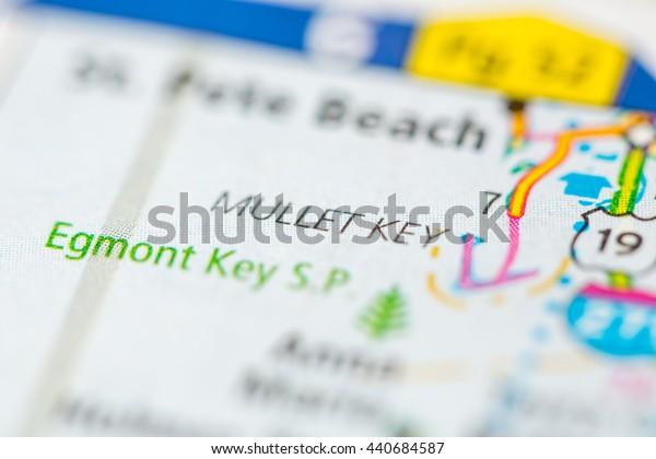 Mullet Key. Florida. USA