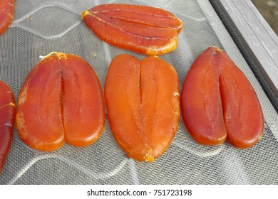 mullet roe is a kind of post-dried salted mullet ovaries of aquatic  processed foods