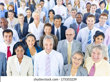 Mullti-ethnic Group of Business People