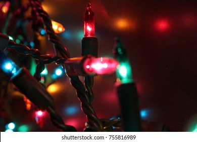 Multi Color Holiday Lights