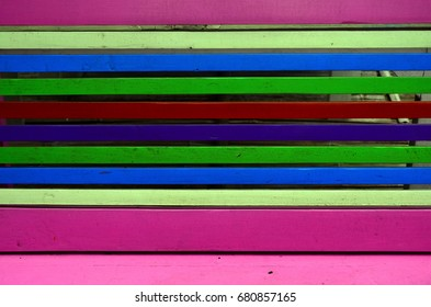 Multi color wooden background and texture