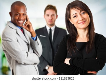 Multi ethnic business eteam