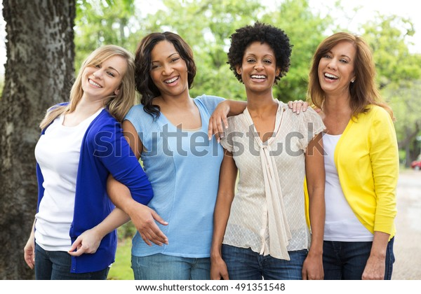 Multi Ethnic Group of Women