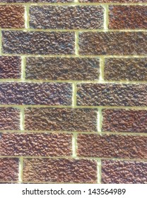 Multi-Color Brick Wall