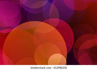 Multicolor Gradient Circles