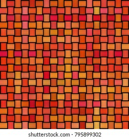 Multicolor Gradient Rectangles Grid. Abstract Geometric Background Design. Seamless Black and White Pattern.