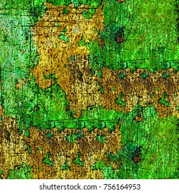 Multicolor grunge background. Abstract colored texture. The pattern of colored spots and streaks of paint