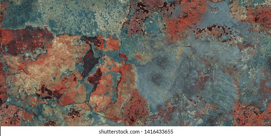 Multicolor rough marble texture background (with high resolution), Rusty stucco wall texture for interior home decoration ceramic tile surface.