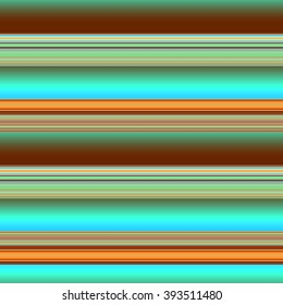Multicolor striped pattern with horizontal brushed lines in tropical blue green. Texture for web, print, wallpaper, home decor, spring summer fashion fabric, textile, invitation background, gift paper