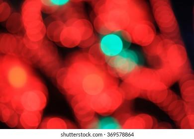 Multicolored bogey lights background