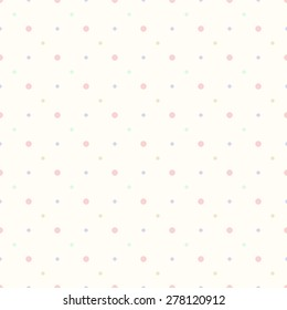 Multicolored dot background point