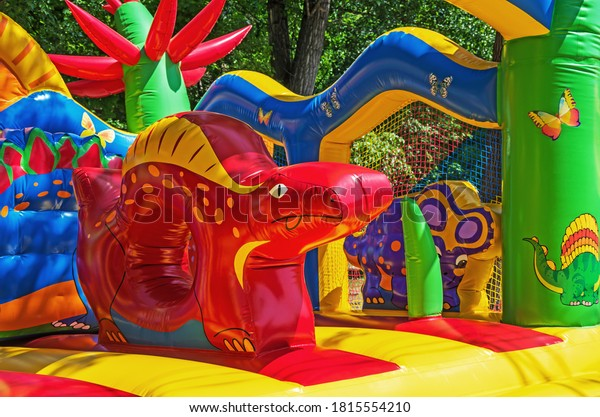 multicolored-elastic-childrens-inflatabl