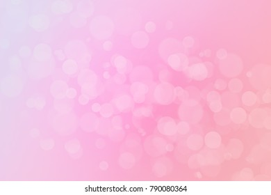 Multicolored Gradient Background with Light Flares and Beautiful Bokeh