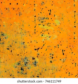 Multicolored grunge texture. Vintage background color. Composition of different color patterns. Old abstract style