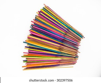 Multi-colored incense