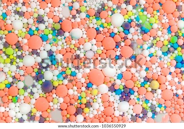 Multicolored Molecules Atoms Color Universe Wallpapers Stock Photo Edit Now 1036550929