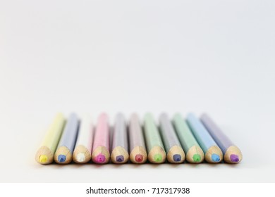 Multi-colored pencils