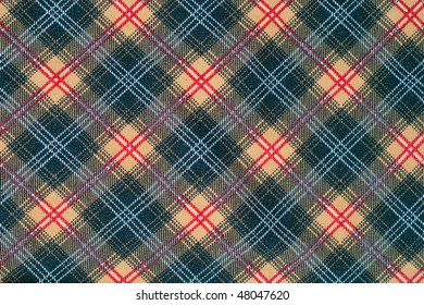 Multi-colored plaid - ideal for background