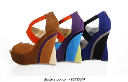 d3d692371 Wedge Heels Images, Stock Photos & Vectors   Shutterstock