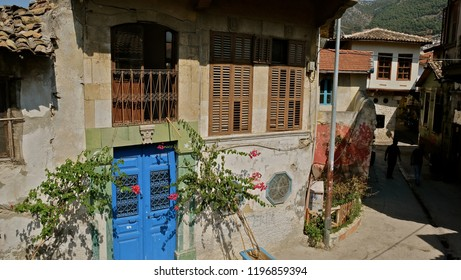 multicultural city Hatay Antakya from Turkey. oldu streets and buildings