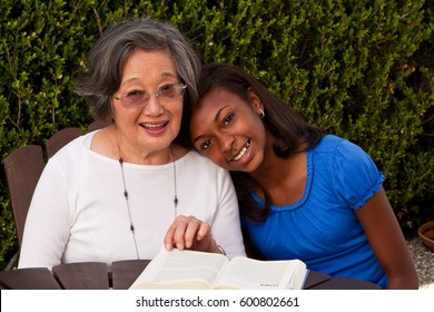 Multicultural and generational women. Role model.