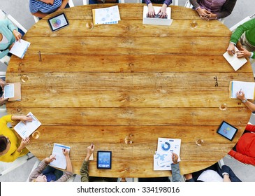 Multiethnic Group of People Meeting Planning Concept