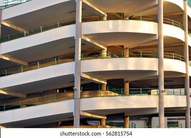 multi-level parking garage