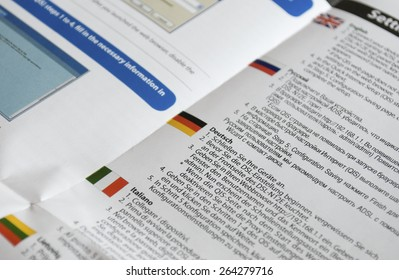 multilingual manual paper