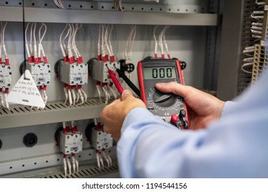multimeter hands electrician closeup service works stock photo (editmultimeter in hands of electrician closeup service works in electrical box maintenance of electric