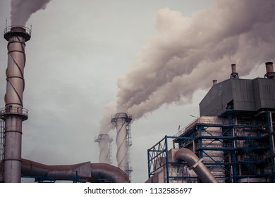 Multiple biomass power plant from cane pulp destroys smokestacks Emit Carbon Dioxide Pollution