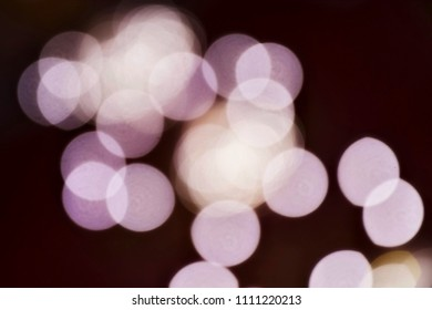 multiple circular blurred light