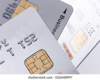 Multiple credit card background