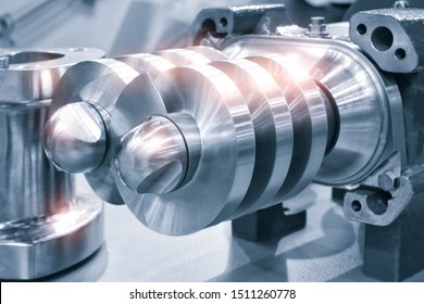 Multistage high pressure prepared pumpfor pumping of water, fuel, oil and oil or chemical products, closeup details