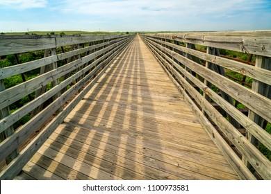 multi-use recreational Cowboy Trail in northern Nebraska - trestle over Niobrara River near Valentine