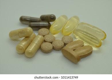 Multivitamin, healthy lifestyle, diet