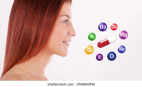 Multivitamin and mineral supplements complex.