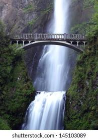 Multnomah Fall, Oregon U.S.A. - Columbia River Gorge