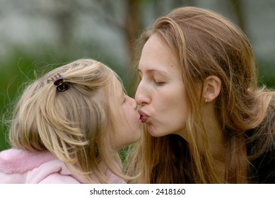 the mum with a daughter