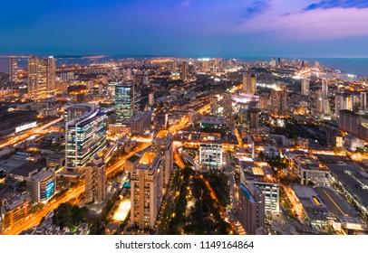 Mumbai cityscape- Lower Parel to Nariman Point.