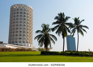 Mumbai / India 18 February 2018 Nehru Centre housing Planetarium and science activity centers at Worli in Bombay Mumbai Maharashtra  India
