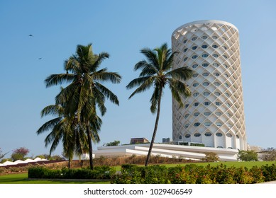 Mumbai / India 18 February 2018 Nehru Centre housing Planetarium and science activity centers at Worli in Bombay Mumbai Maharashtra  India