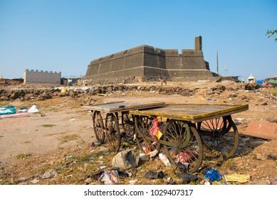 Mumbai / India 18 February 2018 The Worli Fort was built by the British around 1675 at Worli village in Bombay Mumbai Maharashtra  India