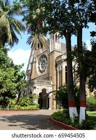 Mumbai, India - 27 May,2017: The Fort campus of the University of Mumbai.