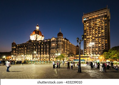 MUMBAI, INDIA - FEBRUARY 21: The Taj Mahal Palace Hotel on Febuary 21, 2014 in Mumbai, India