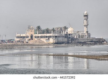 MUMBAI, INDIA -February 24,2012:Haji Ali Dargah