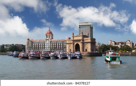 Mumbai India with Gateway and hotel