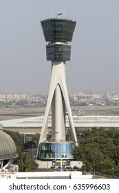 MUMBAI, INDIA - MAY 2, 2013 - Chattrapati Shivaji International Airport's new ATC Tower is ready.