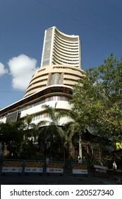 MUMBAI, INDIA MAY 23, 2008:Old structure of Share market Bombay Stock Exchange Building.