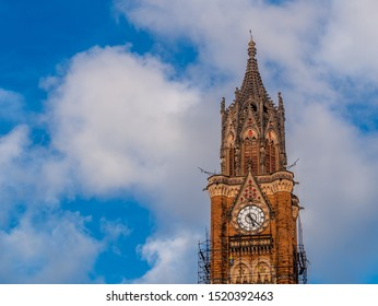 Mumbai, India - September 28,2019 : The University of Mumbai, informally known as Mumbai University (MU), is one of the earliest state universities in India and the oldest in Maharashtra
