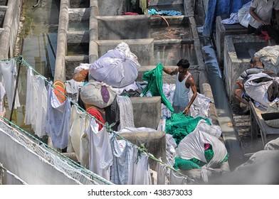 Mumbai, India-MARCH 03,2013:MUMBAI CITY WASH